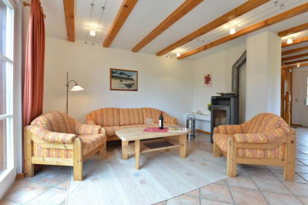 Zimmer im Wohnbereich im Ferienhaus am Hafen der Störtebeker Appartements in Ralswiek auf Rügen