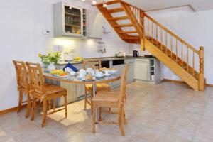 Ferienwohnungen der Störtebeker Appartements im Pferdehof in Ralswiek auf der Insel Rügen